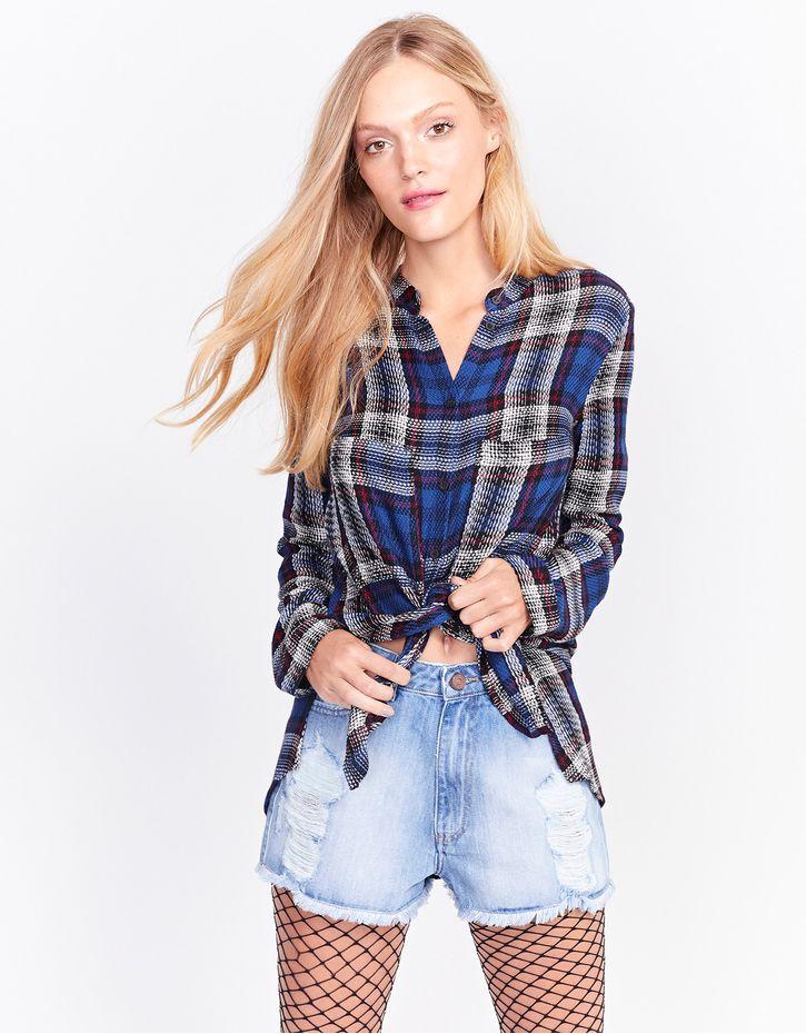 af9e2aba1 Camisas Femininas Jeans, Oversize e muito mais! | Pop Up Store